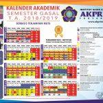 Kalender-Akademik-Gasal-AKPRIND-2018