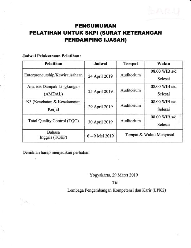 Pelatihan Untuk SKPI_001