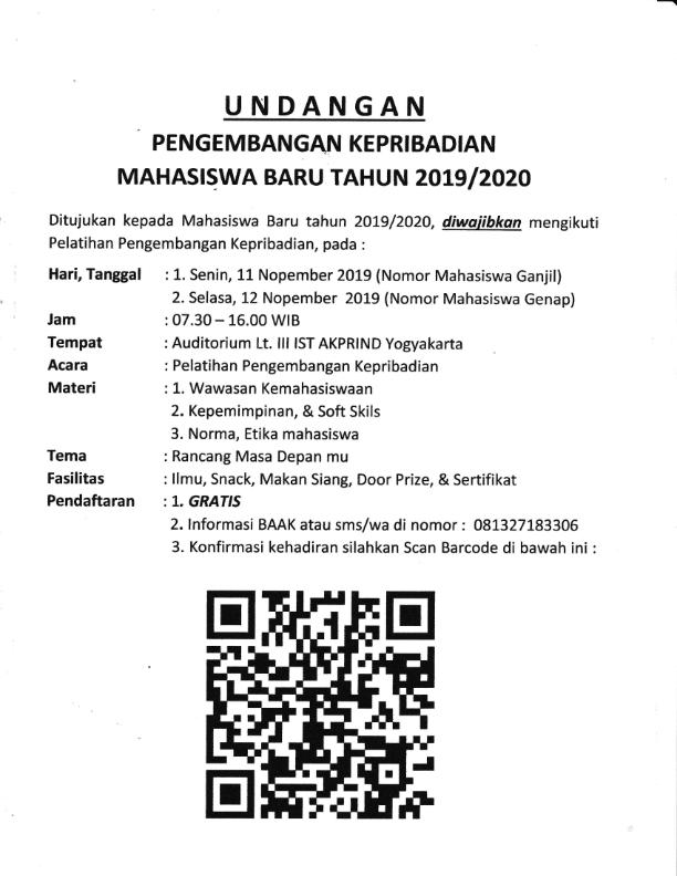 Undangan Pelatihan Pengembangan Kepribadian_001